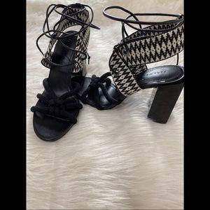 Zara Block Heels